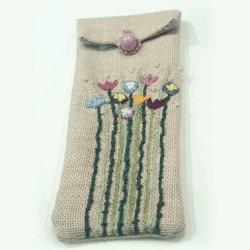 画像3: 刺繍めがねケース